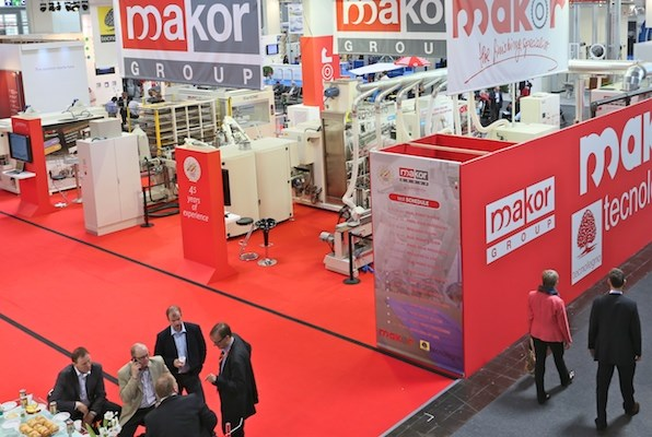 Makor Group display at LIGNA.