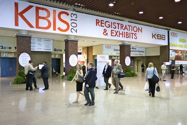 KBIS showcased the latest trends.