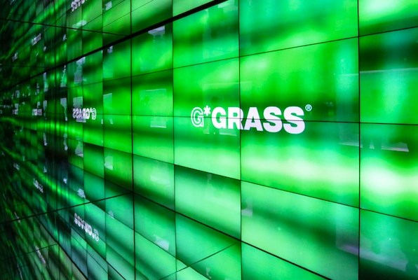 GRASS display at interzum.