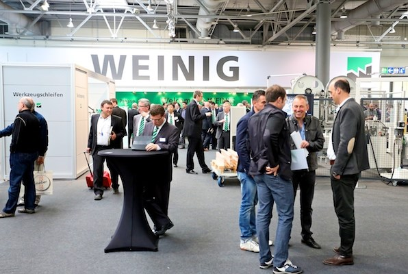WEINIG display at LIGNA.