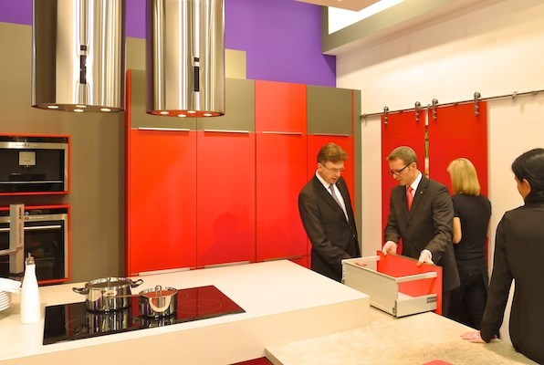 Discovering new trends at LivingKitchen 2013.